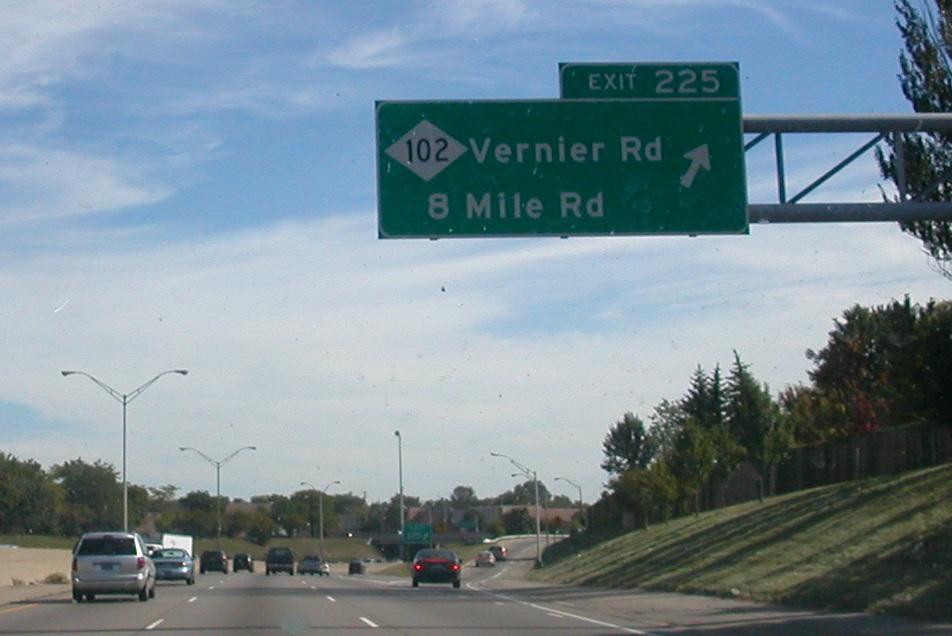 Ville Detroit  Mile Rd