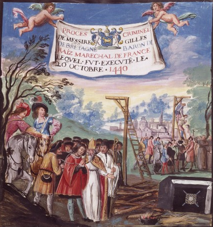 Exécution Gilles de Rais