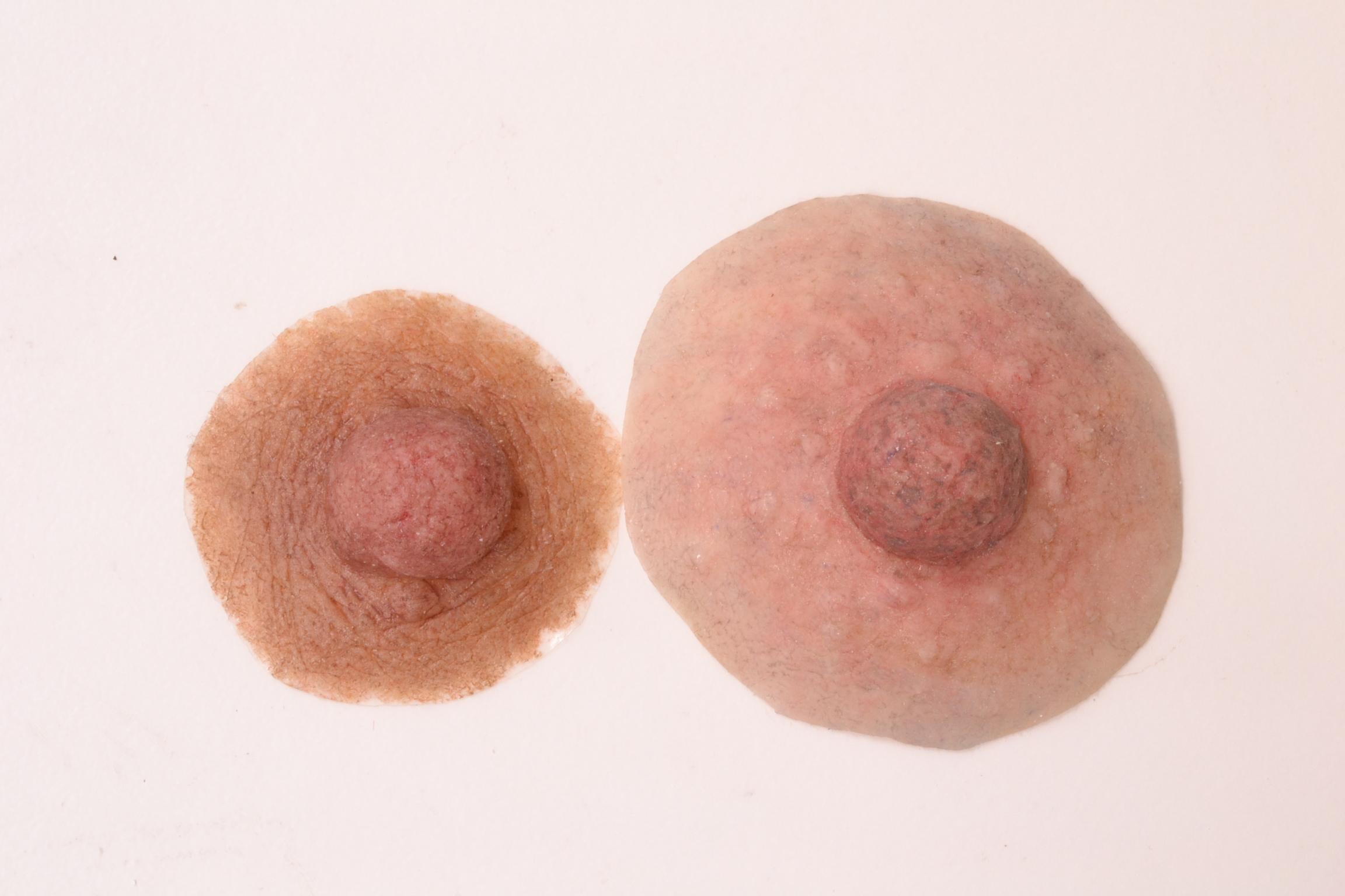 Women with long breast nipples speaking
