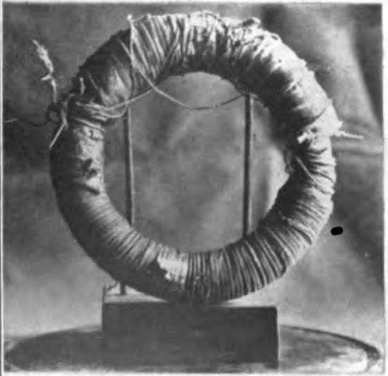 Michael Faraday Induction Ring