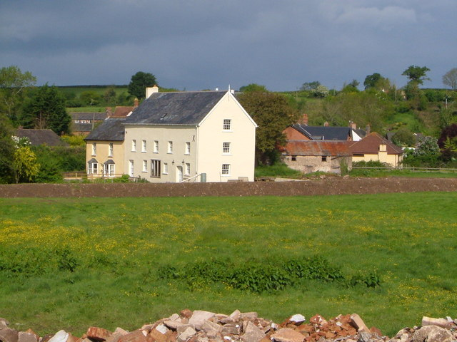 Feniton Mills from Fenny Bridge - geograph.org.uk - 174157