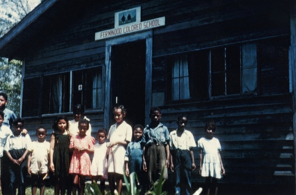 "File:Fernwood (Mississippi?) ""Colored"" School, circa 1946 (14594038234).jpg"