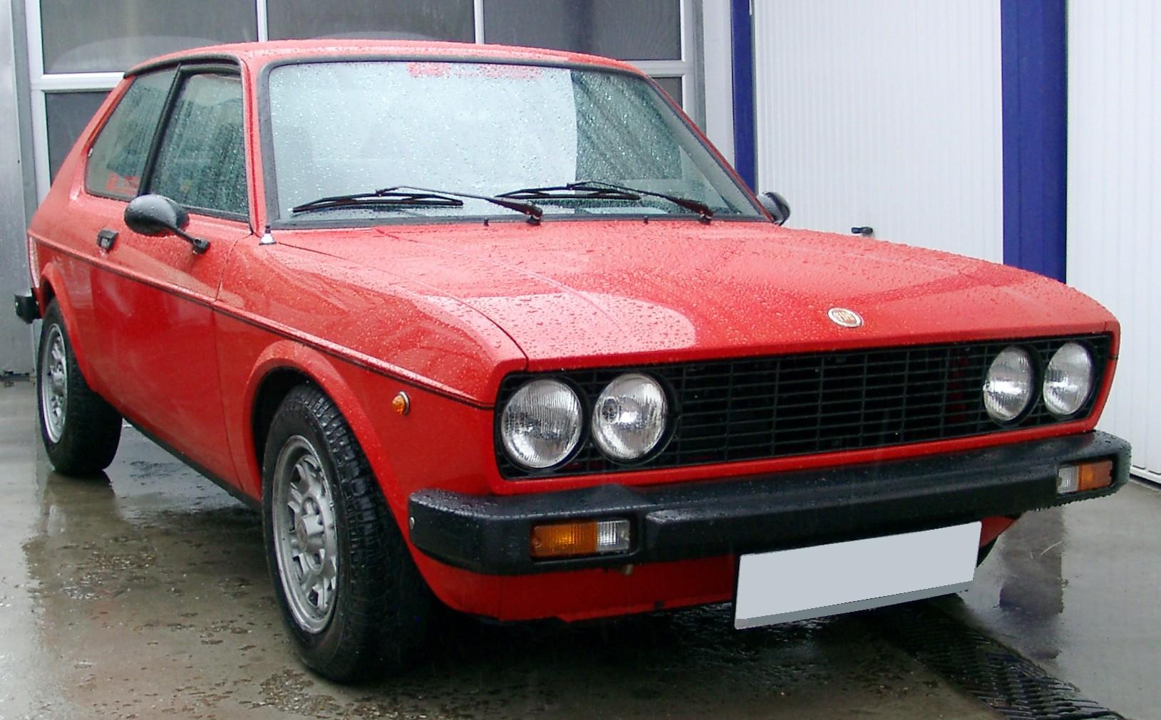 File:Fiat 128 Berlinetta front 20080419 ...