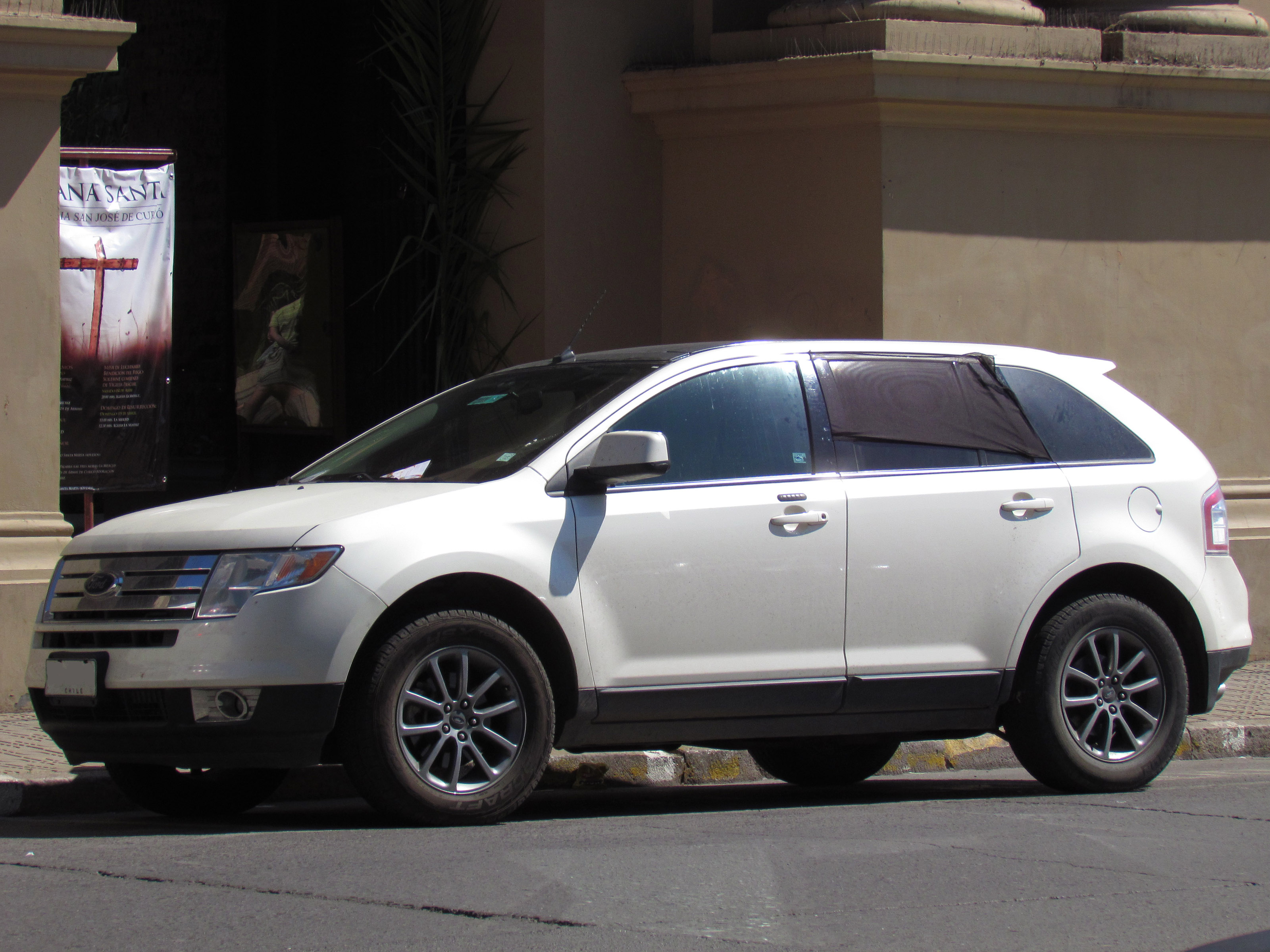 Ford Edge With Selectable Awd