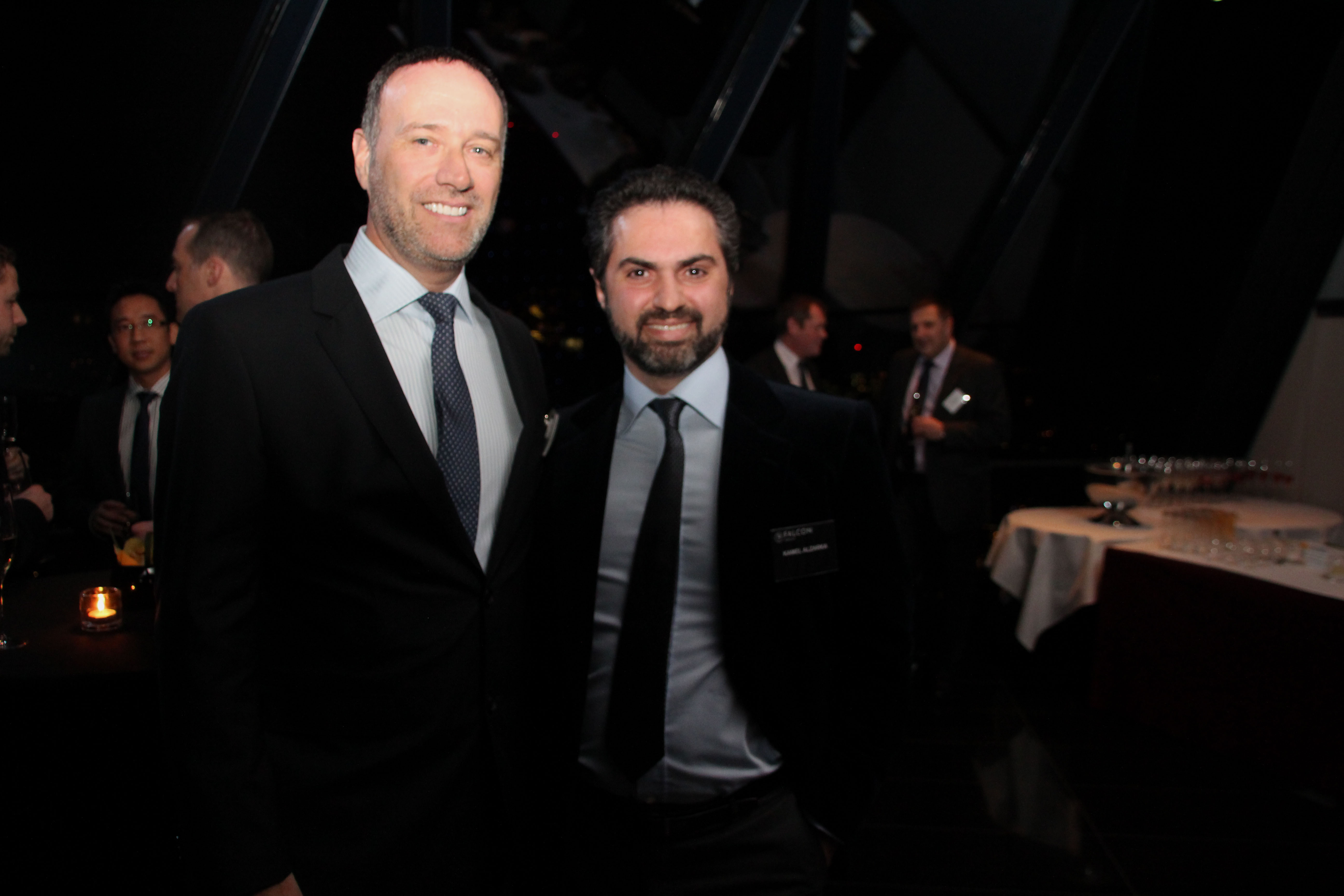 File:Founder Kamel Alzarka pictured next to CEO of Falcon