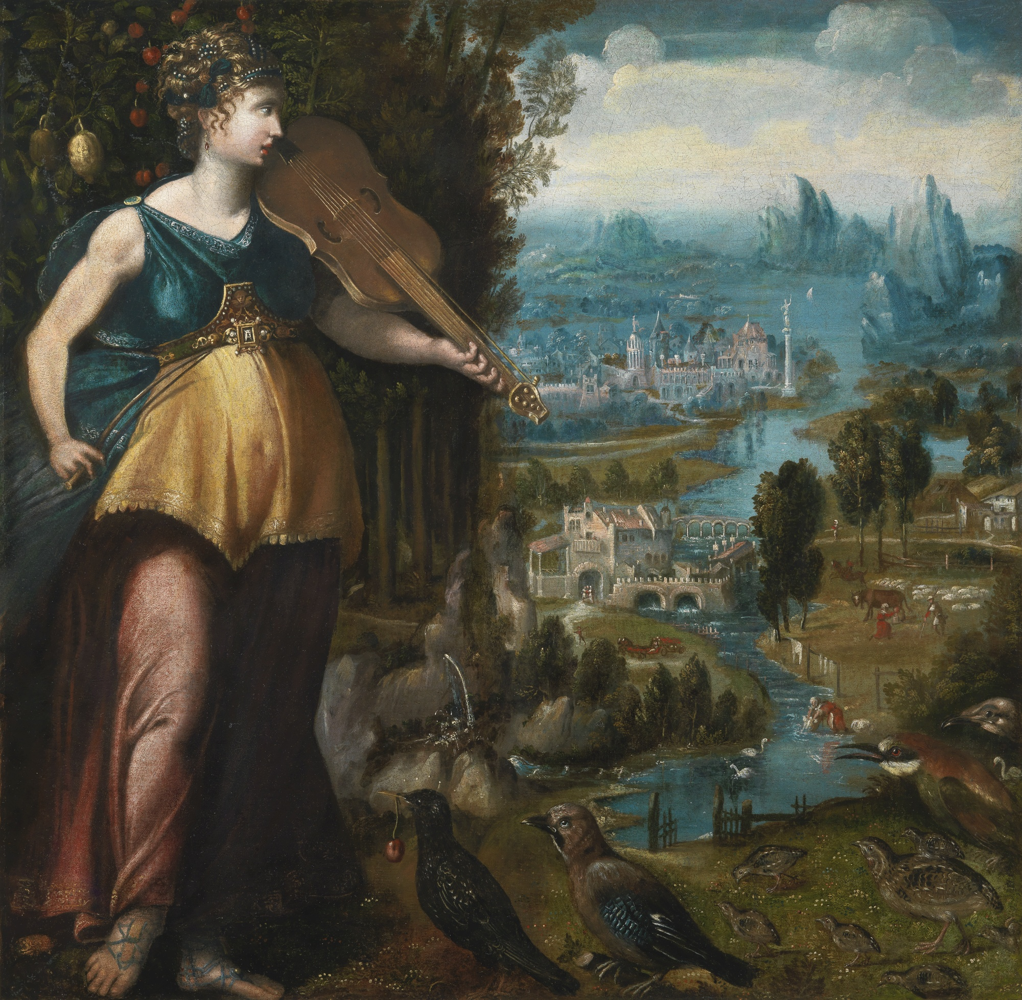 File:Franco-Flemish School mid-16th century Allegory of ...