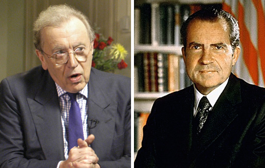 the nixon interviews wikidata