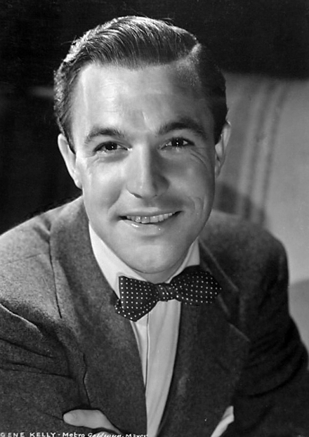 Promotional photograph of actor Gene Kelly.