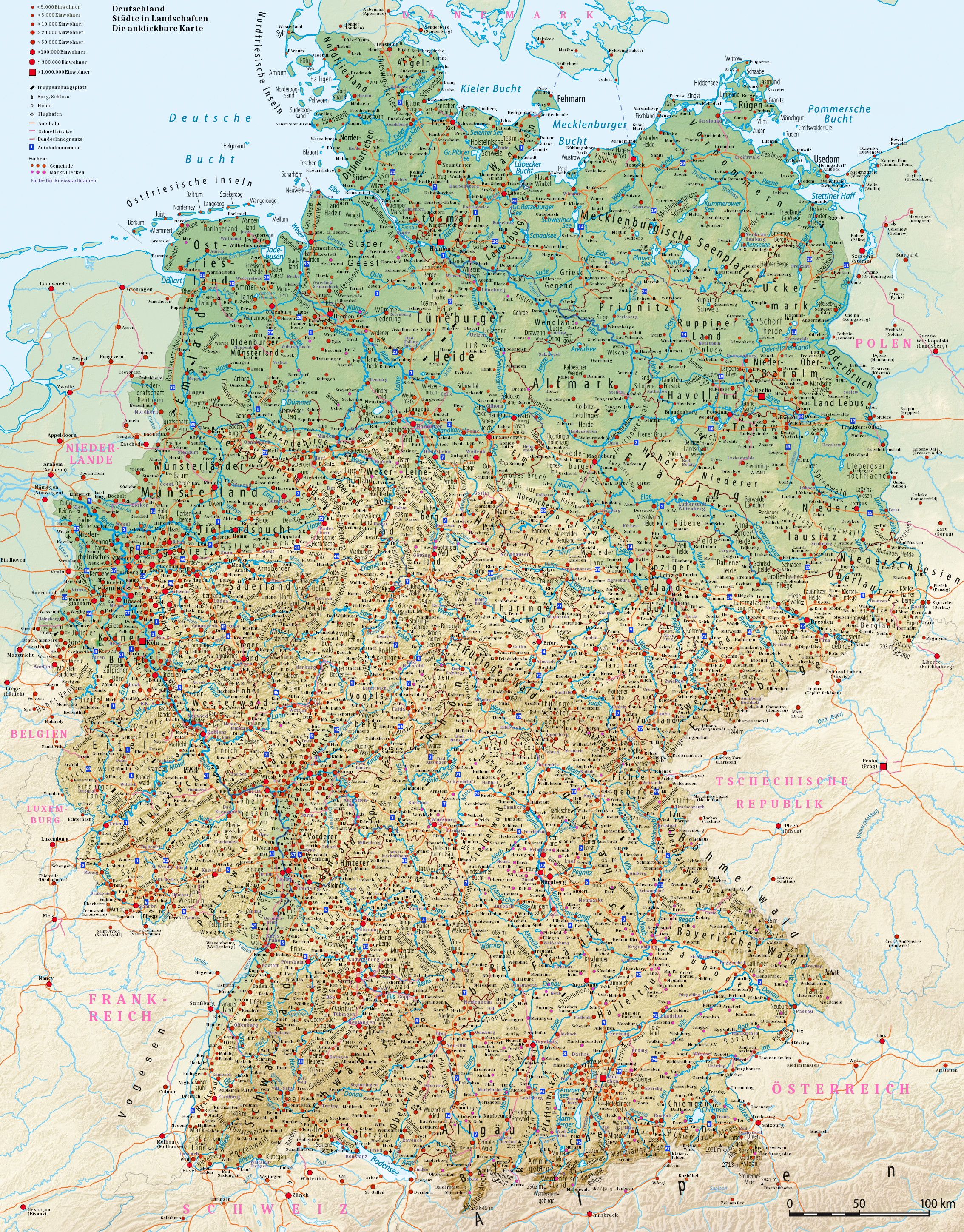 Atlas Of Germany Wikimedia Commons