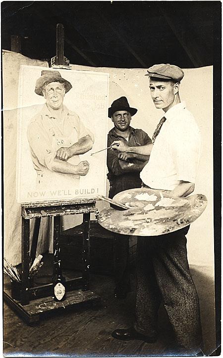 gerrit beneker at easel 1915.jpg