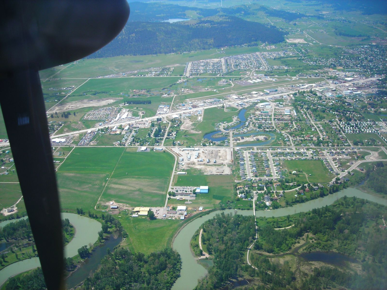 City Of Kalispell >> Kalispell City Airport Wikipedia