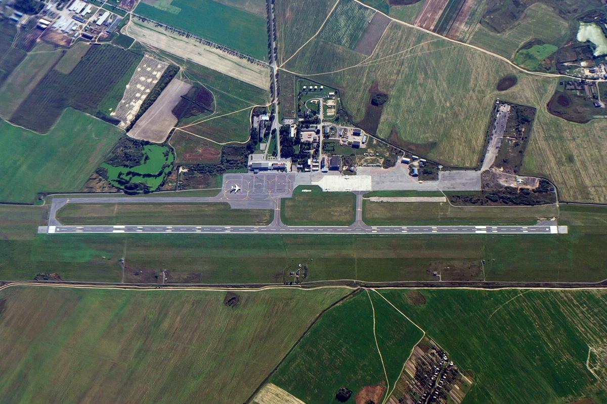 Аэропорт Гомель (Gomel Airport).2