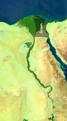 Land of Goshen, (also Goshen, Gosen) (Genesis ...