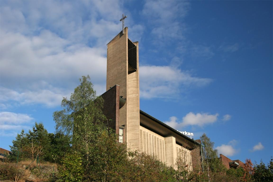 Bild av Hammarbykyrkan
