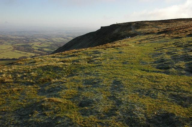 Hay Bluff escarpment - geograph.org.uk - 1074573