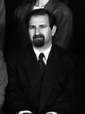 Ioannis Konidaris at 1992 Byzantine Studies Symposium, Dumbarton Oaks.jpg