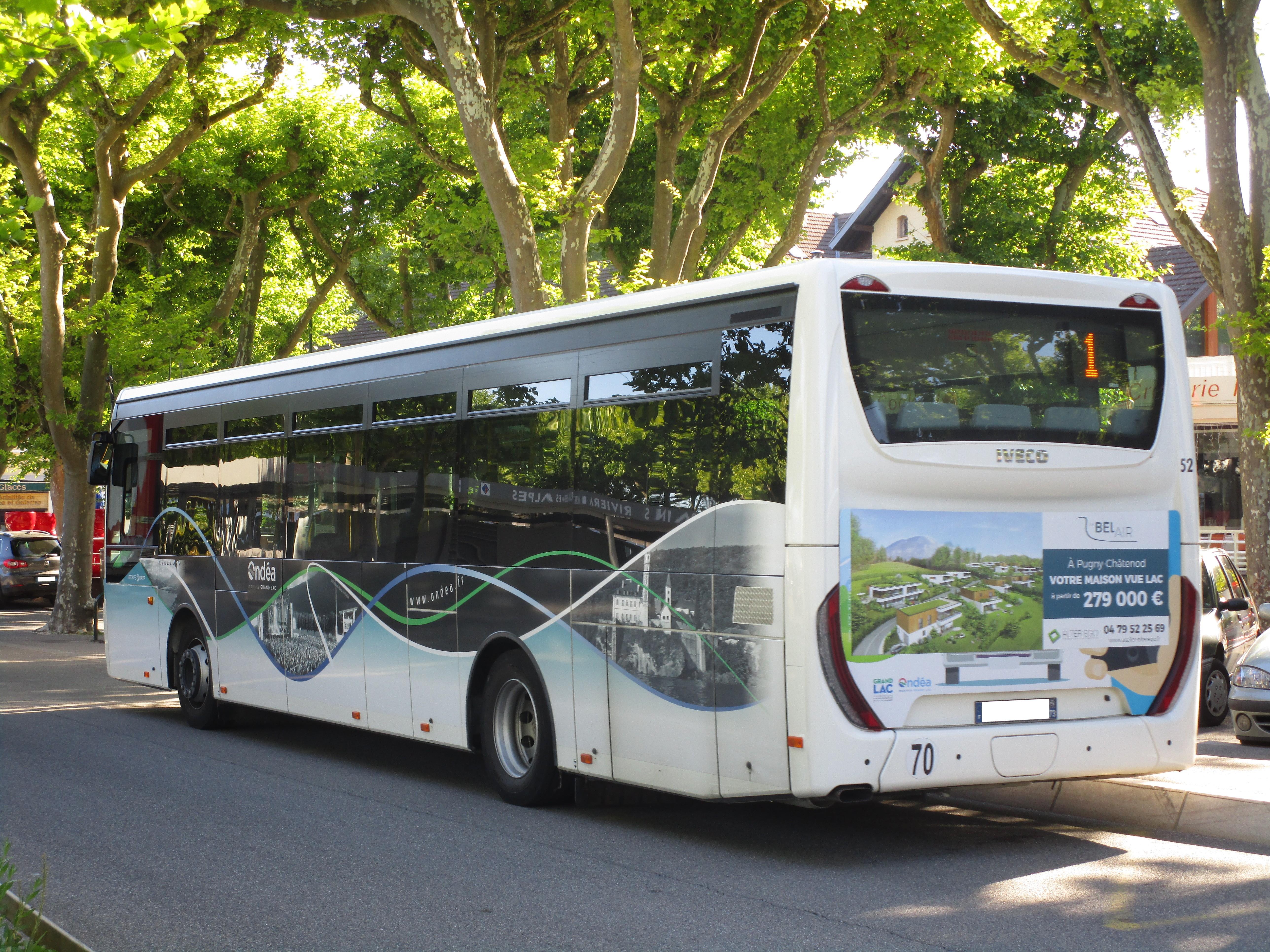 Fichier iveco crossway le n 52 vue arri re ond a - Horaires bus salon aix ...