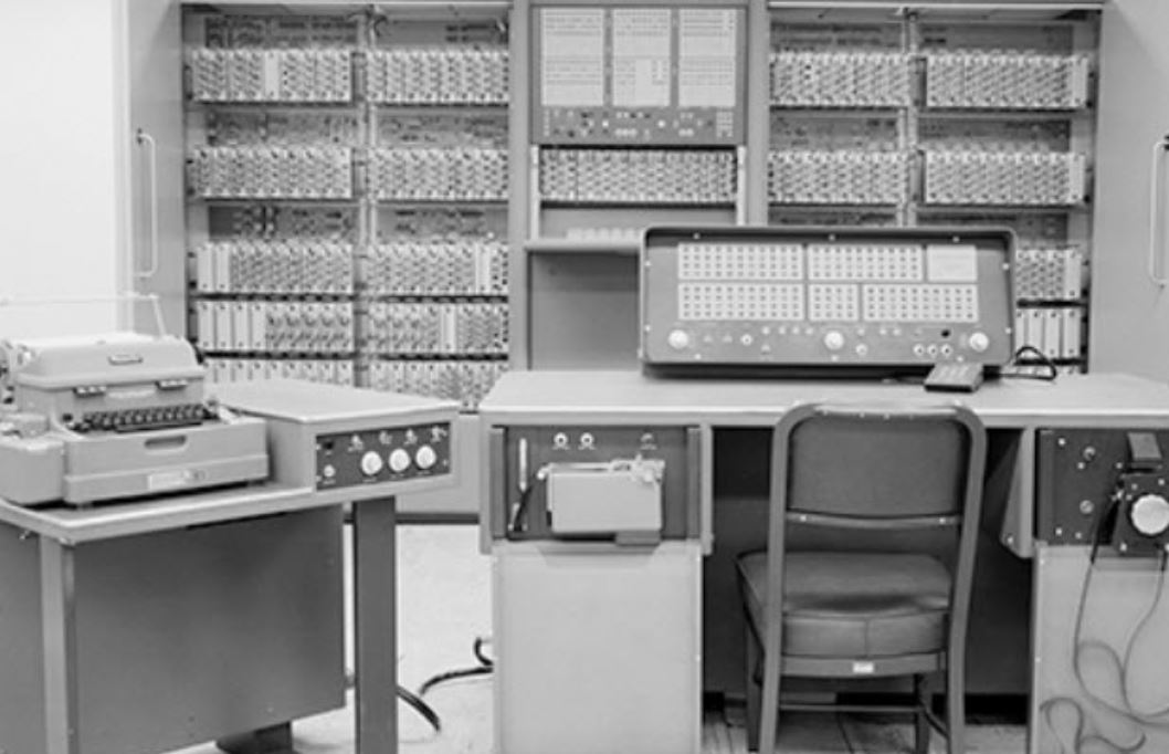 English JPL's first digital computer