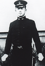 Japanese actor Shigeru Kōyama at the Imperial Japanese Naval Paymaster Academy.jpg