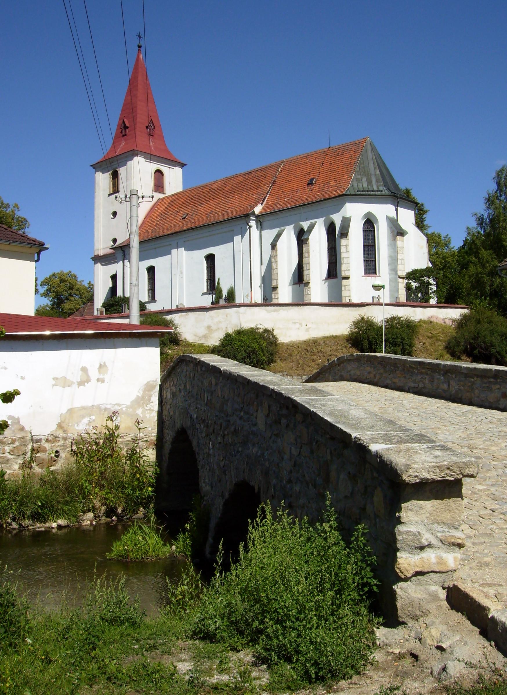 kostel svatého Prokopa v Jarošově