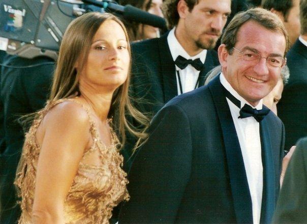 Nathalie Marquay et Jean-Pierre Pernaut au festival de Cannes | Photo : Wikimedia