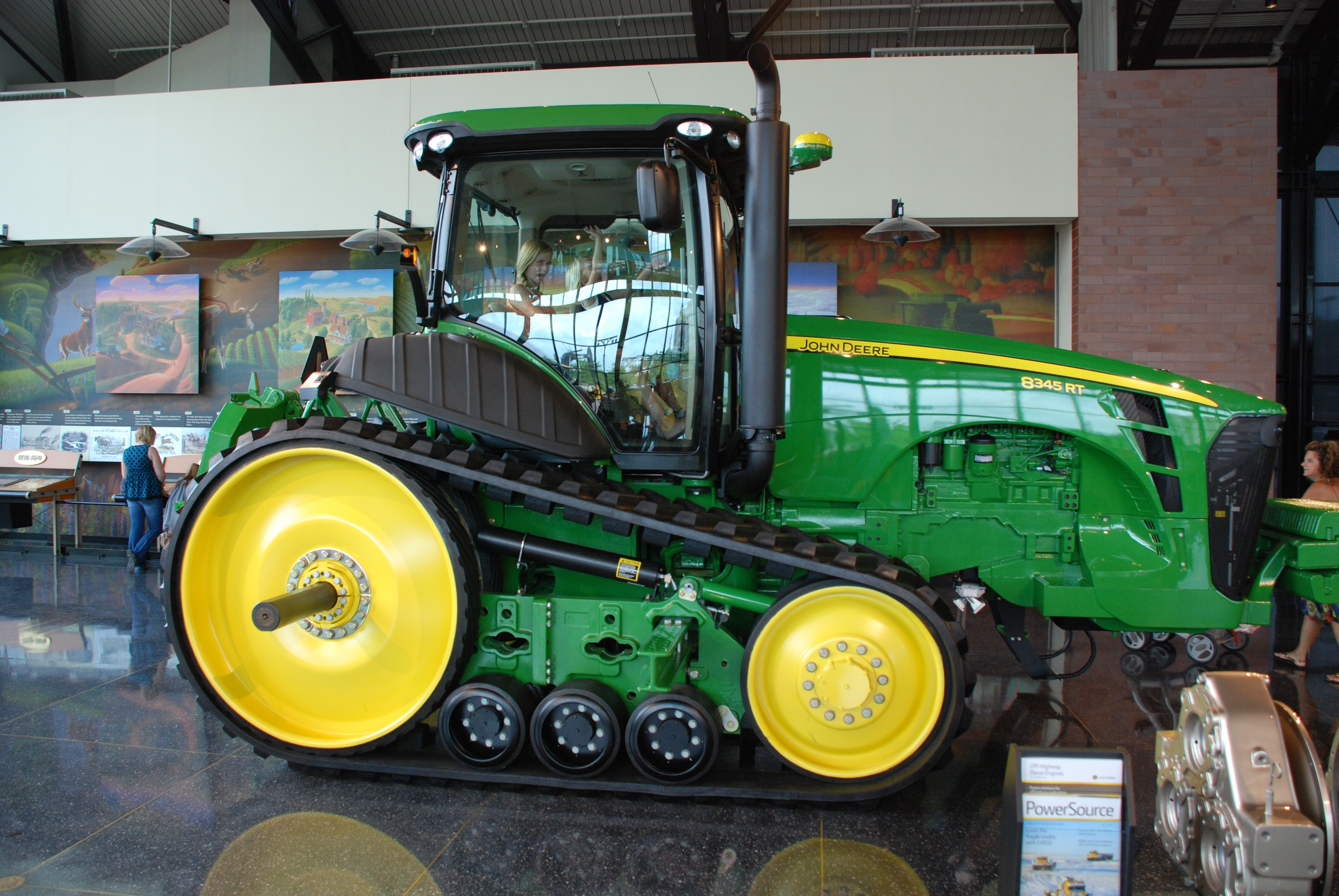 John Deere Side By Side >> File:John Deere 8345 RT, side view.jpg - Wikimedia Commons