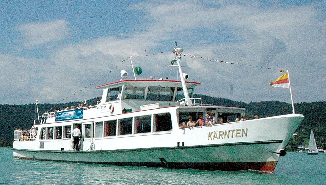 Schifffahrt Wörthersee