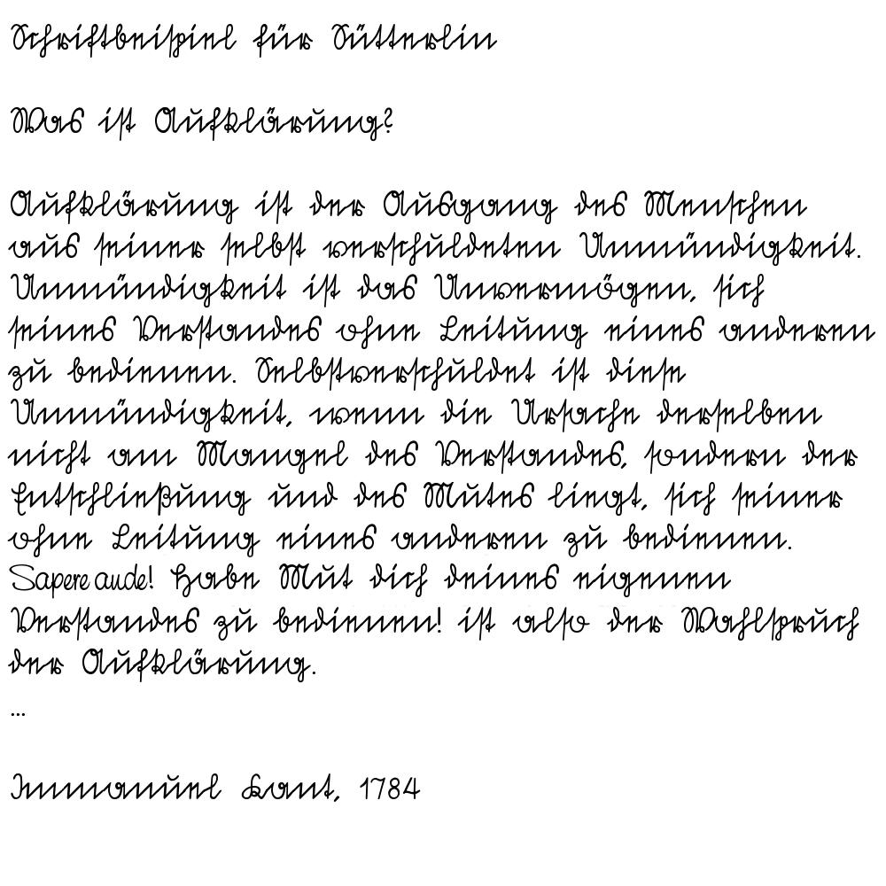 Brief An Herrn Lothar Stanzebla
