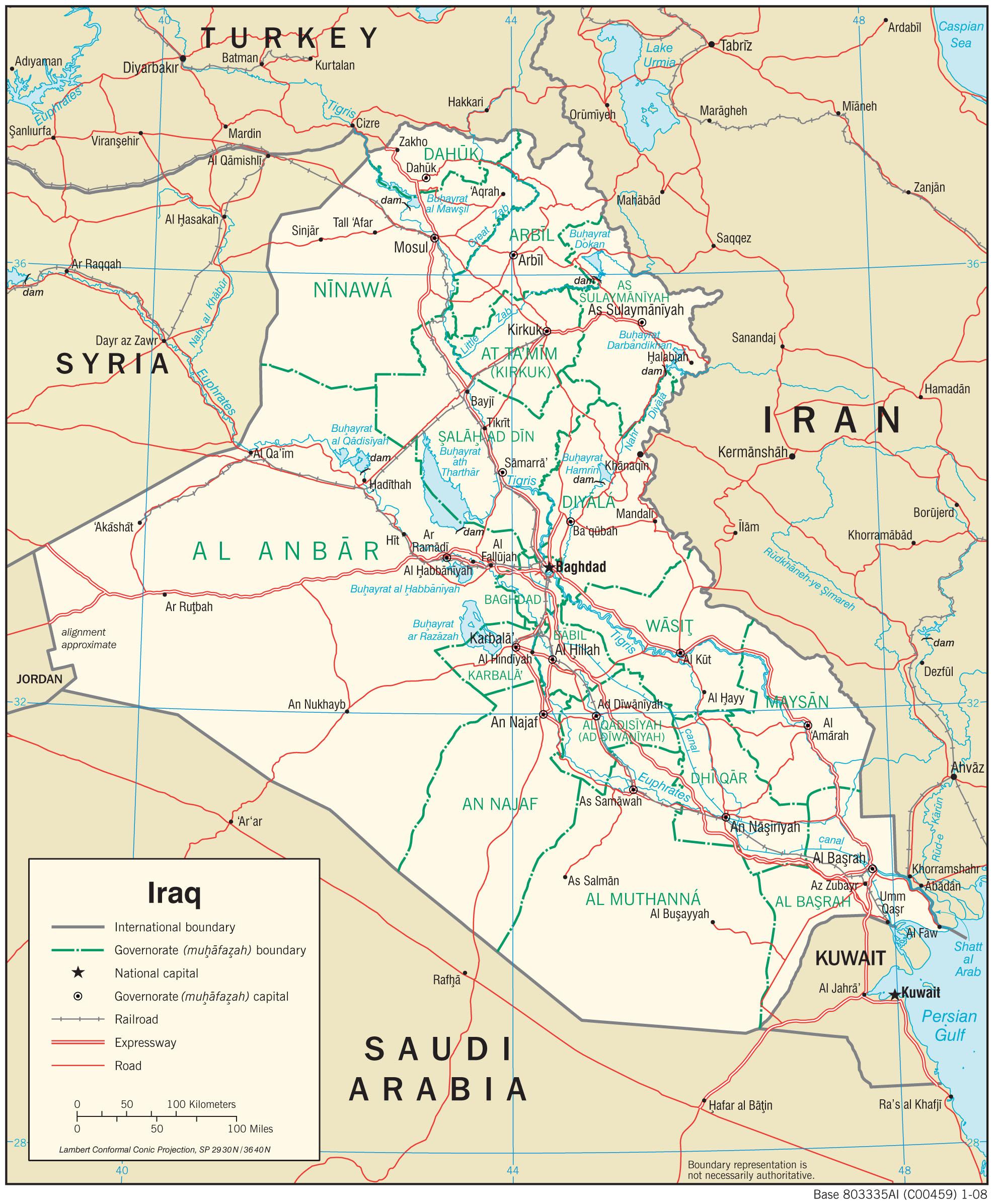 Karte Iran Nachbarlander.Irak Wikipedia
