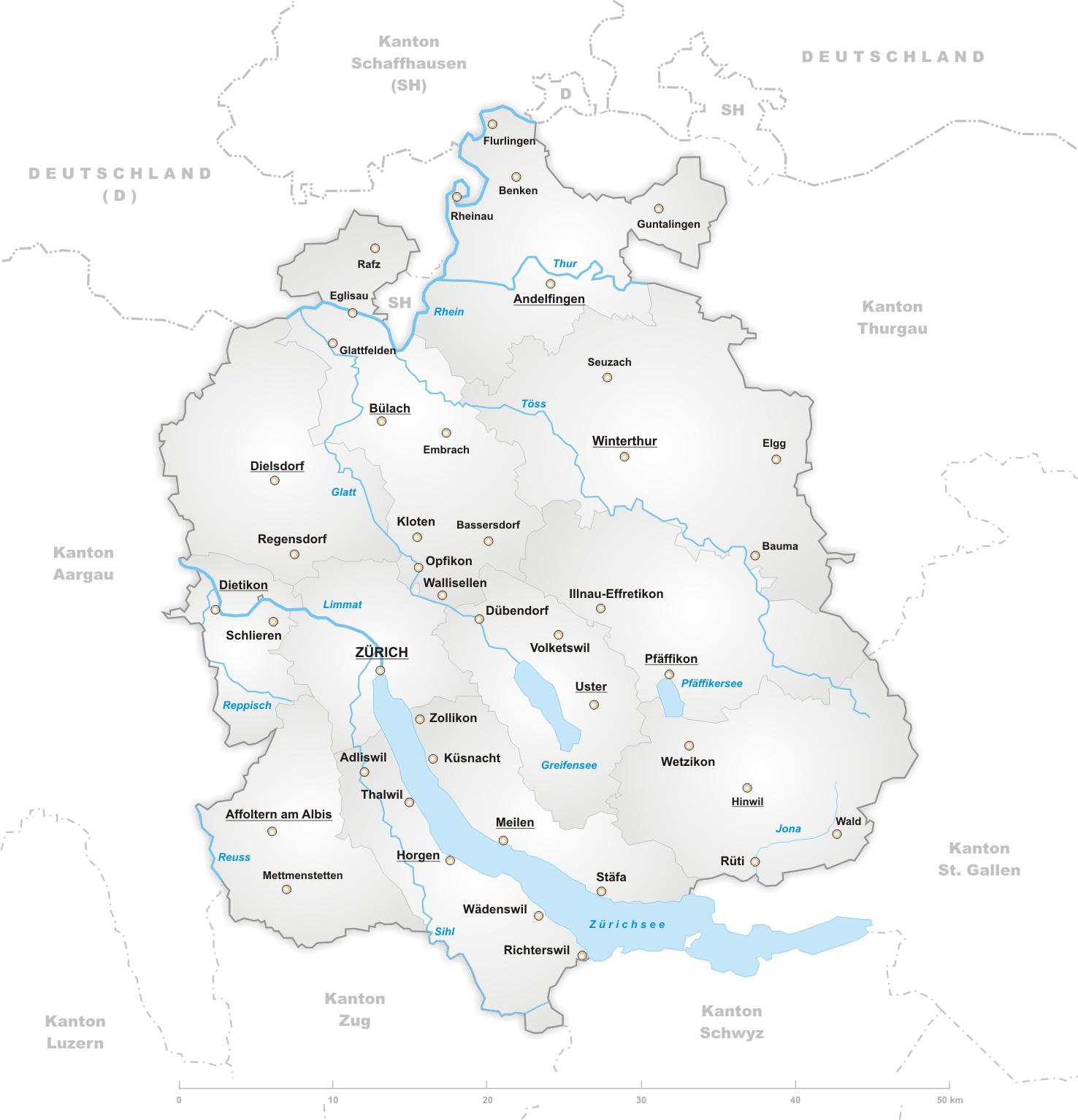 Кантон Цюрих, Швейцария - что посмотреть в окрестностях Цюриха, города и достопримечательности рядом с Цюрихом, путеводитель по Цюриху и Швейцарии