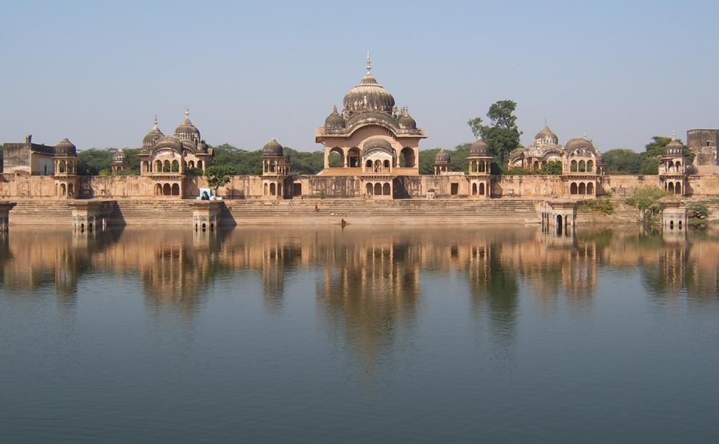 La città di Krishna Kusuma_Sarovar_Ghat