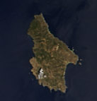 Satellite image of Kythira