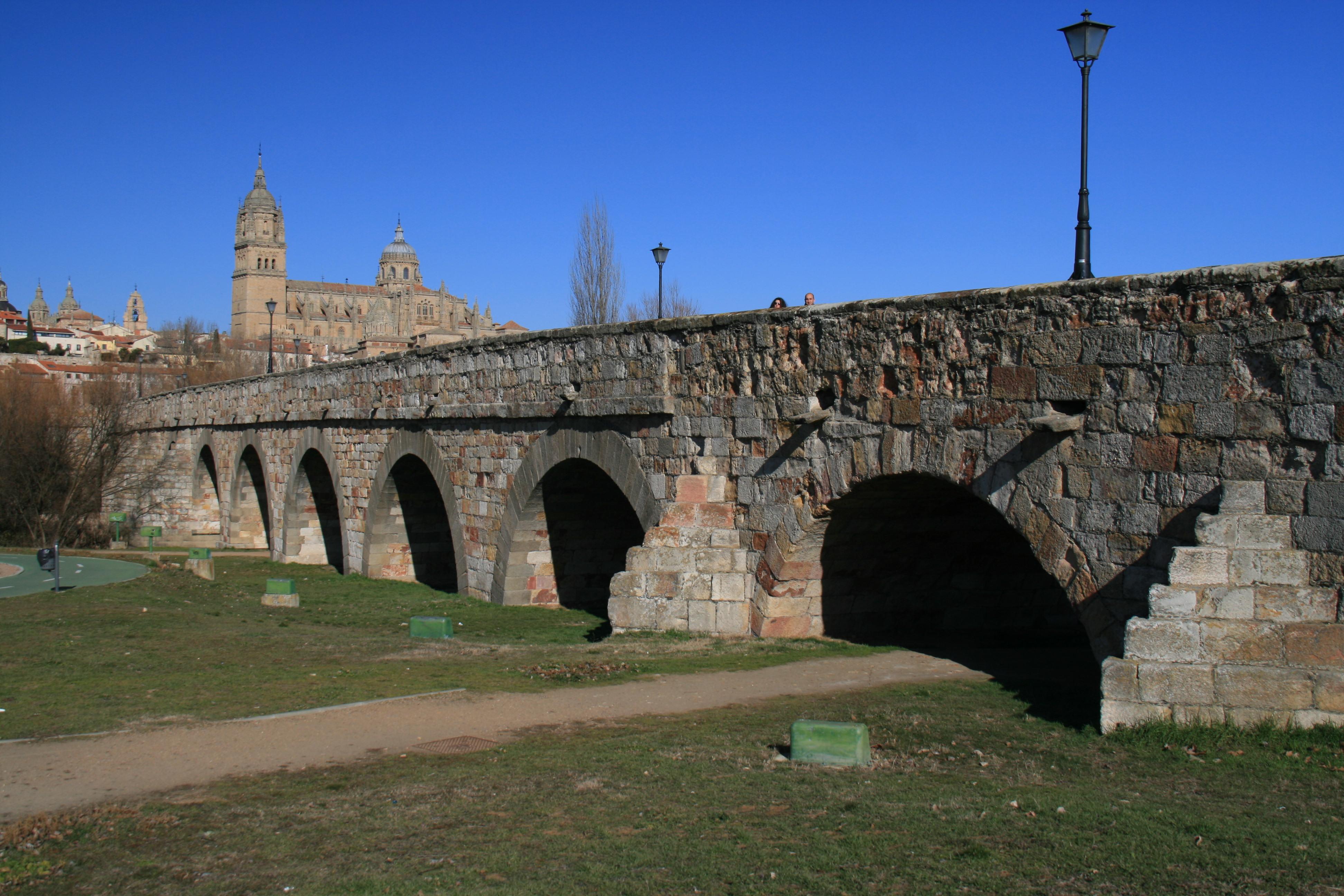Puente romano de Salamanca - Wikipedia, la enciclopedia libre