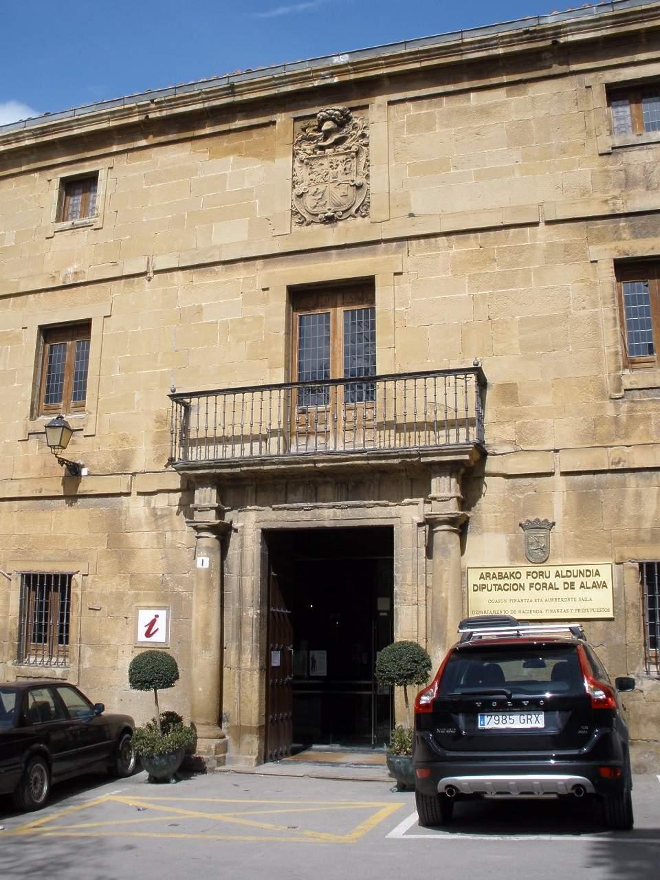 Casa natal de Félix María de Samaniego en Laguardia.