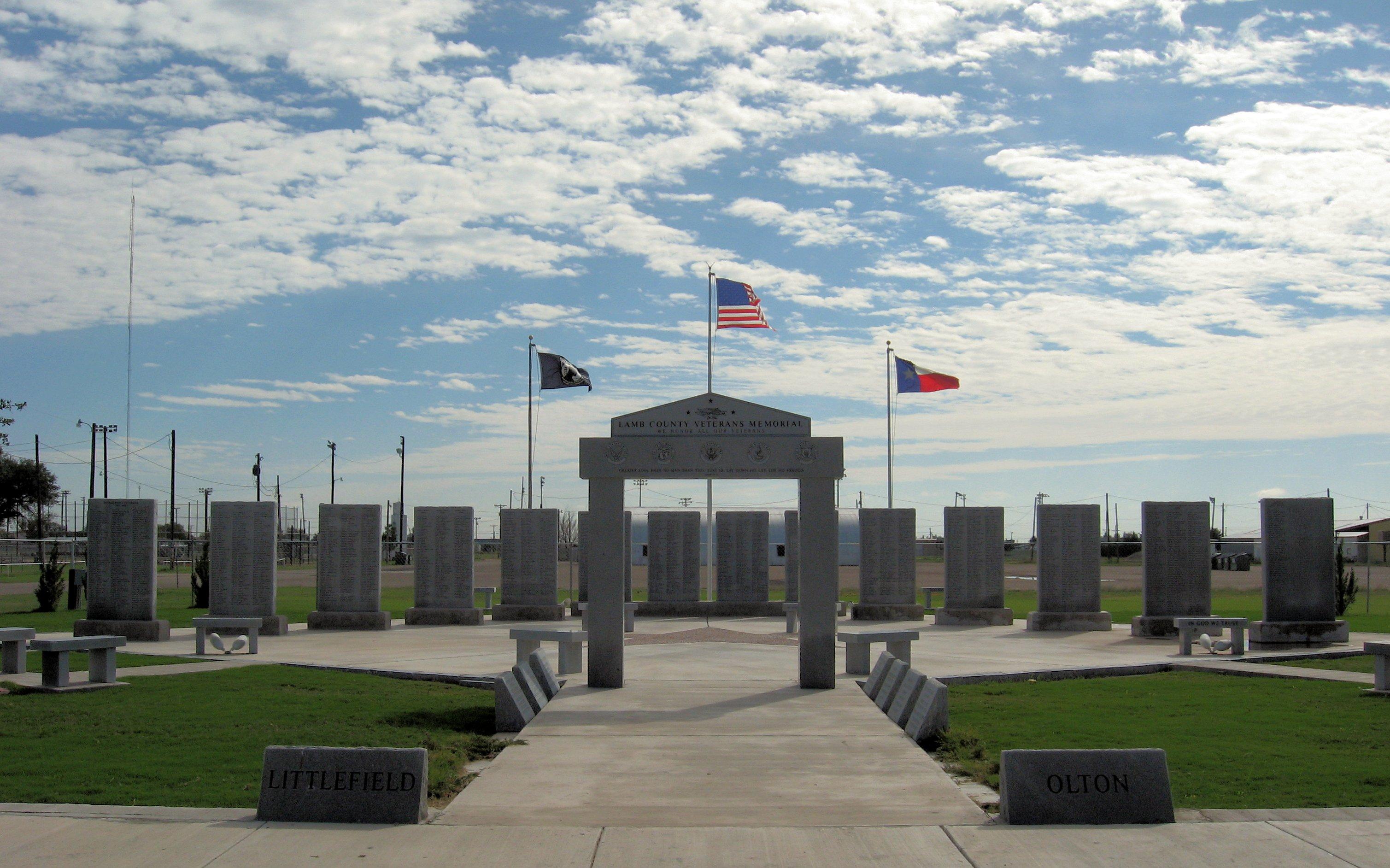 Littlefield (TX) United States  city images : Description Lamb County Veterans Memorial Texas