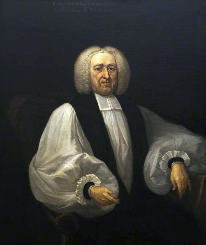 Archbishop Blackburne (attr. [[Joseph Highmore]])