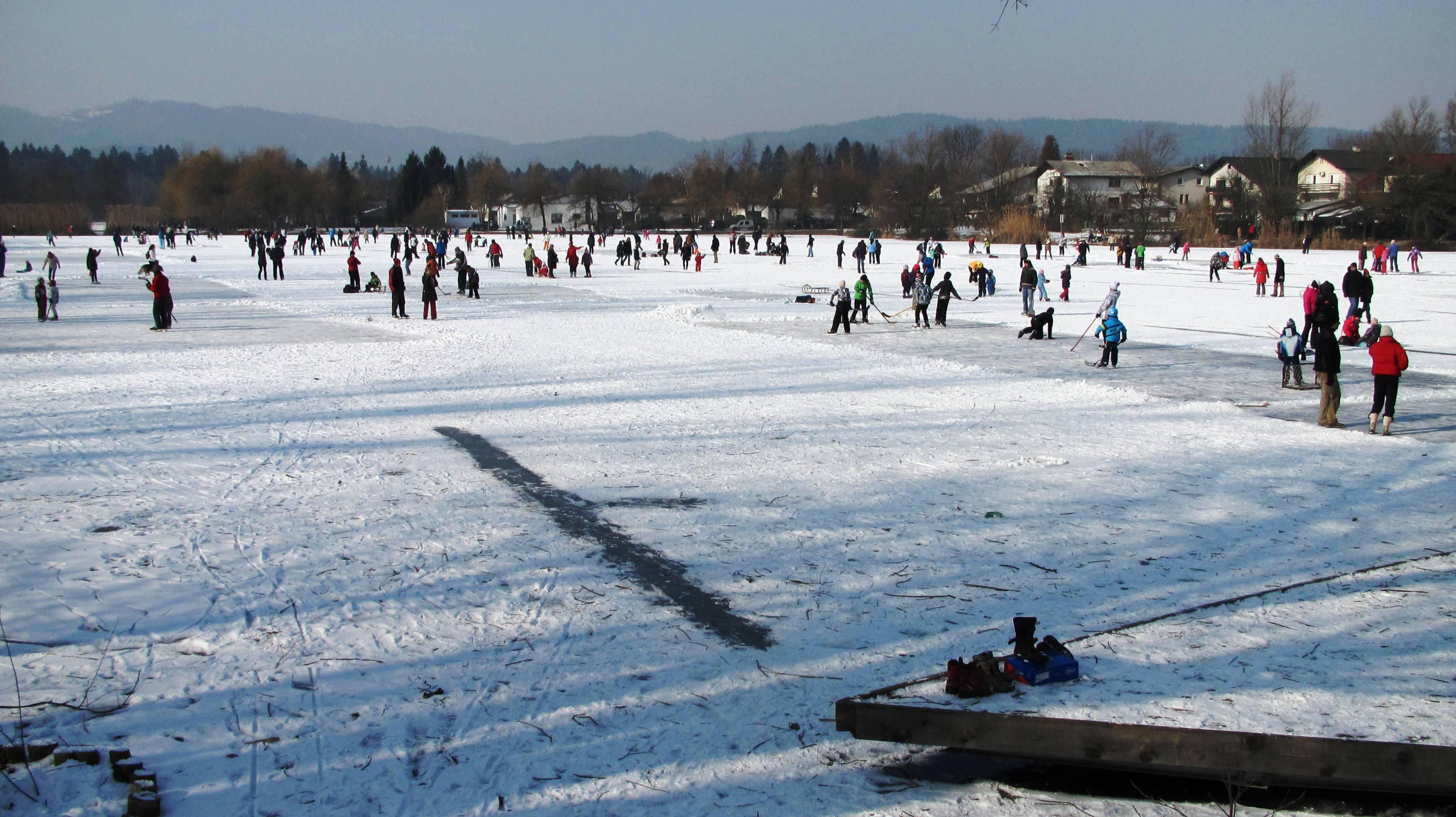 التزلج في بركة كوسيشكي