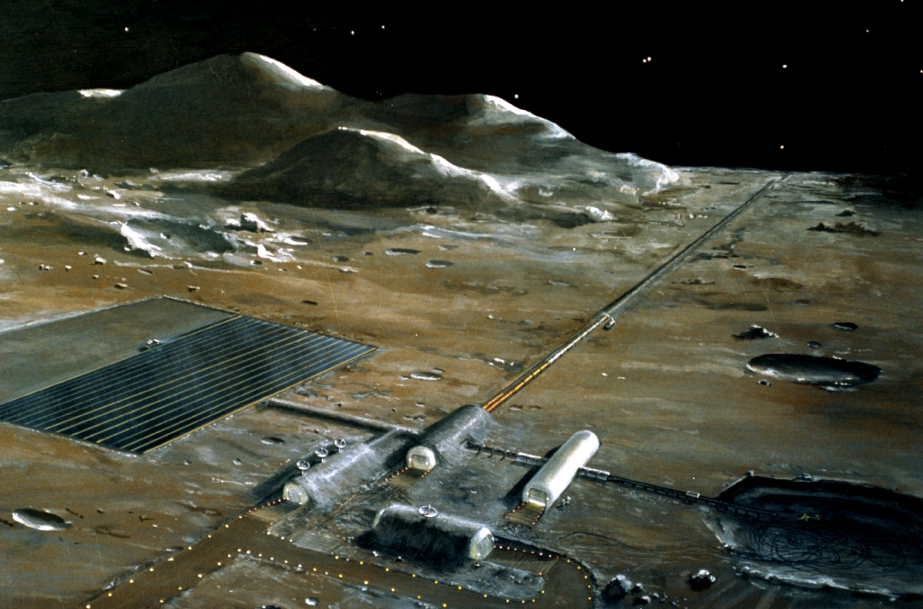the base on moon by 2020 - photo #2