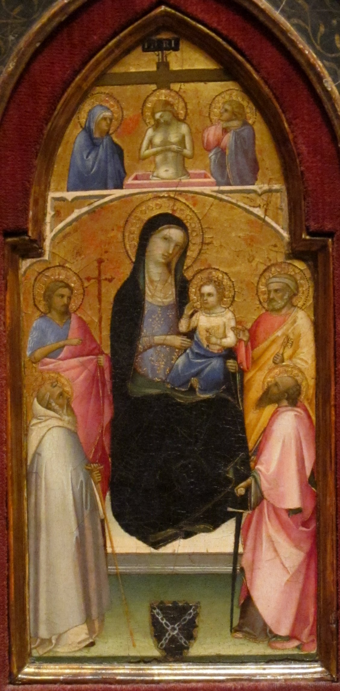 File Madonna And Child With Saints By Fra Angelico San
