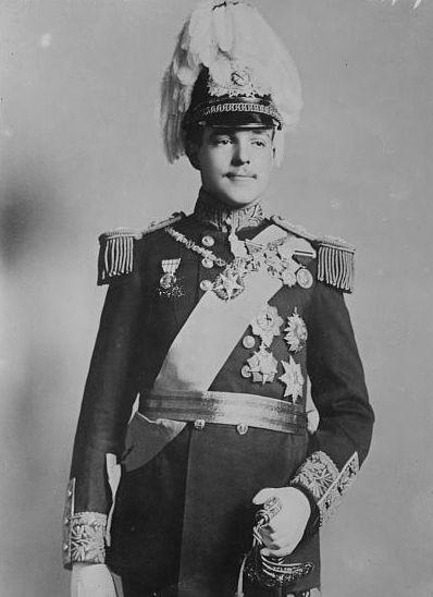 Король Португалии Мануэль ІІ