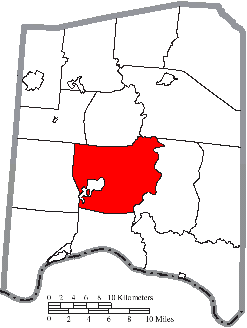 File Map Of Adams County Ohio Highlighting Tiffin Township Png