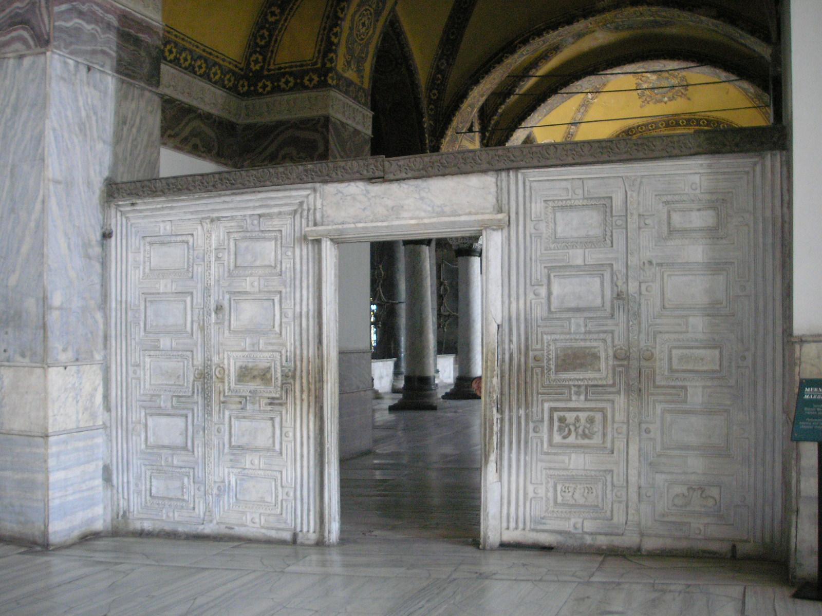 FileMarble door Hagia Sophia 2007 003.jpg & File:Marble door Hagia Sophia 2007 003.jpg - Wikimedia Commons