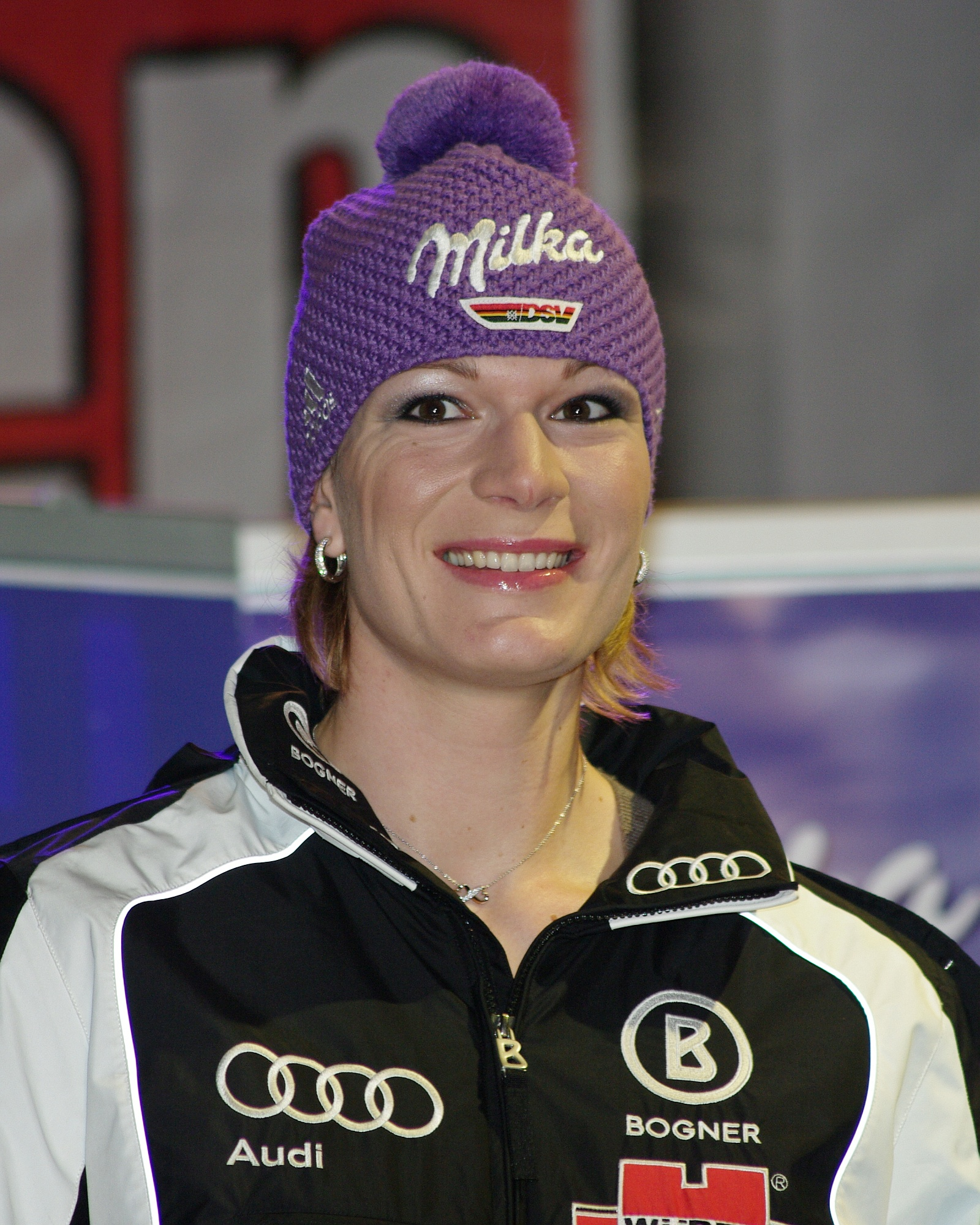 The 33-year old daughter of father Siegfried and mother Monika Maria Höfl-Riesch in 2018 photo. Maria Höfl-Riesch earned a  million dollar salary - leaving the net worth at 7 million in 2018