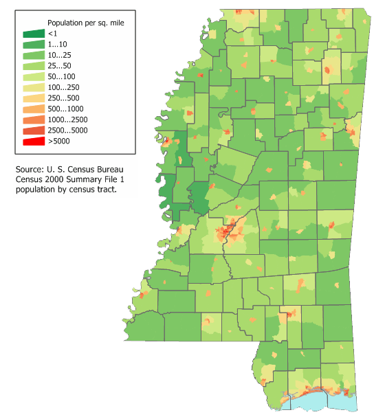 MS Metropolitan Statistical Area