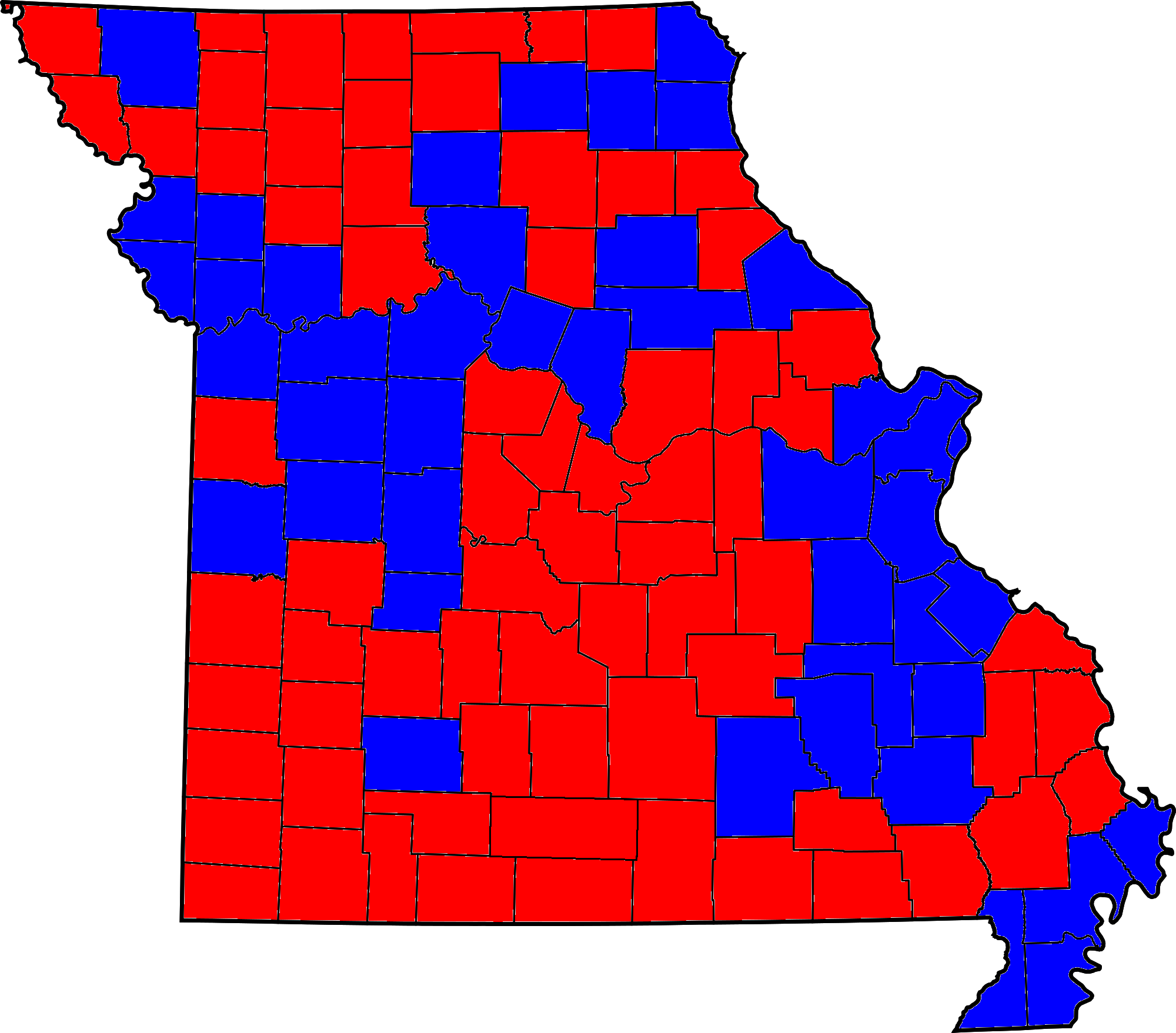 File Missouri Gubernatorial Election 2012 Png Wikimedia Commons