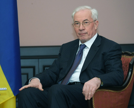 Ukraines Ministerpräsident Nikolaj Asarow