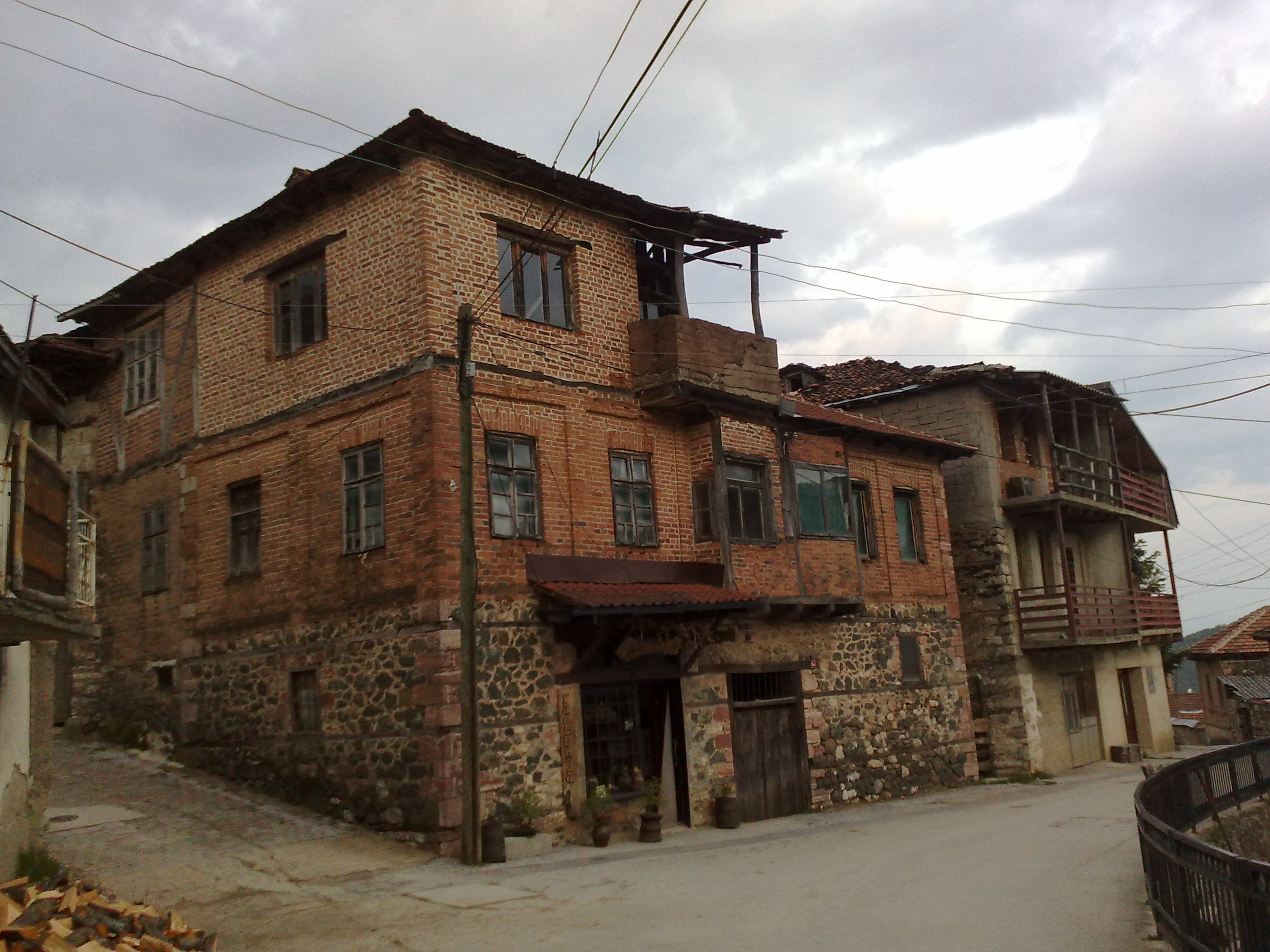 File old house in vevcani village in for Classic houses images