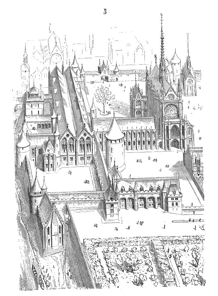西岱宮 聖徒禮拜堂 La Sainte-Chapelle