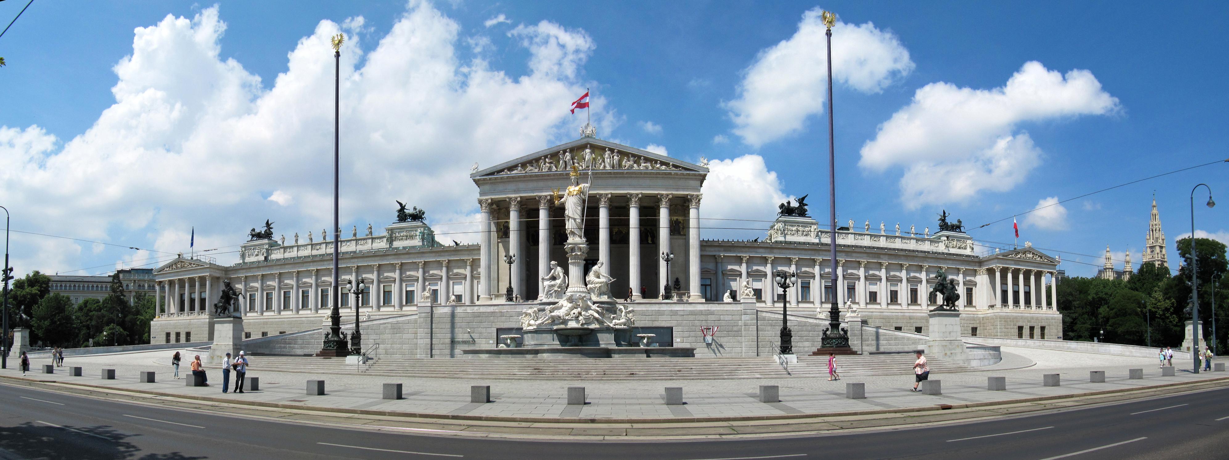 File parlement de vienne wikimedia commons - Office de tourisme de vienne autriche ...