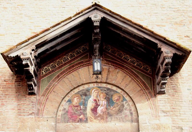 Particolare della Chiesa di San Francesco a Grosseto